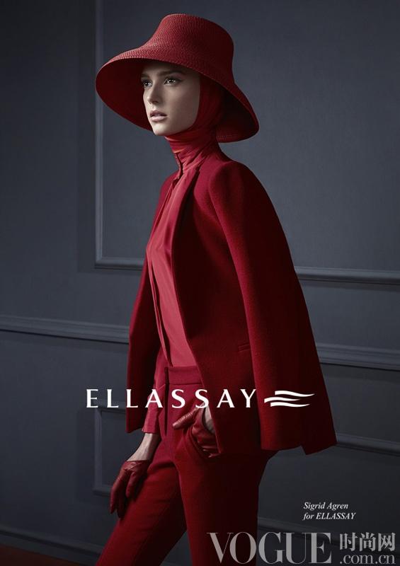 ELLASSAY(歌力思)演绎经典40's Club