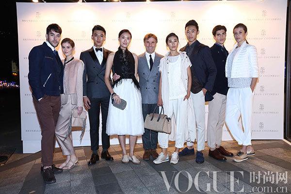 顶级意大利羊绒奢侈品牌Brunello Cucinelli上海旗舰店盛大开幕