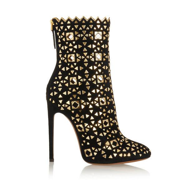 窄口装饰设计短靴推荐