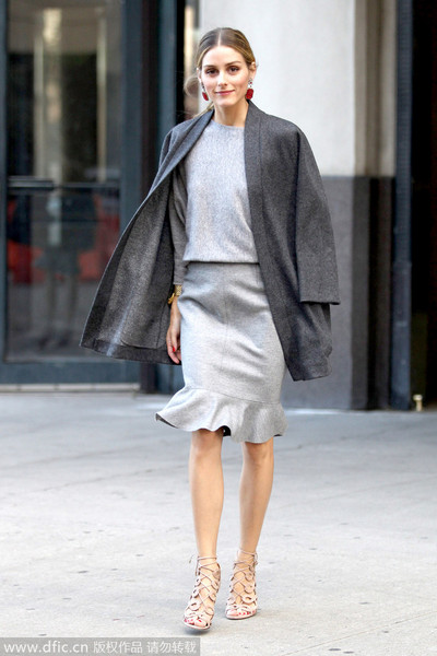 15个绝对有效让你冬日造型不臃肿的穿衣方法