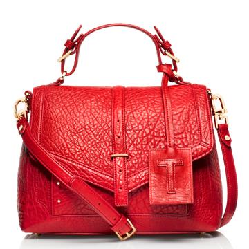 Tory Burch中国新年特别限量系列红色皮质手袋