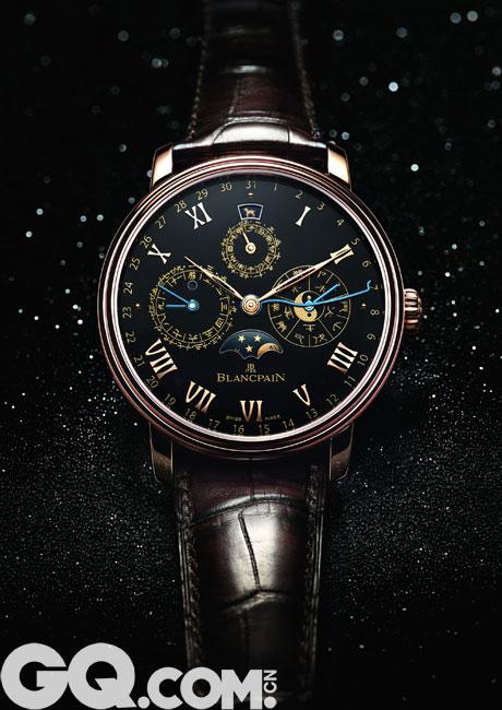 Blancpain宝珀倾情呈献中华年历腕表孤品_腕表_手机版GQ男士网