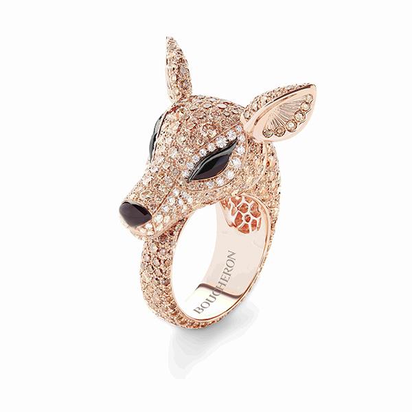 动物系列nara驯鹿戒指