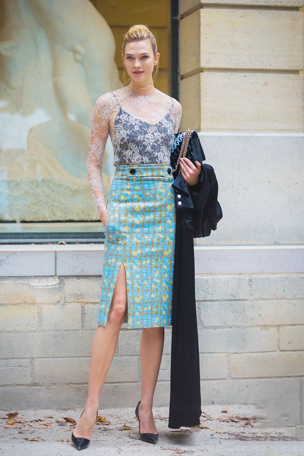 这样的裙子 随便一穿就很美