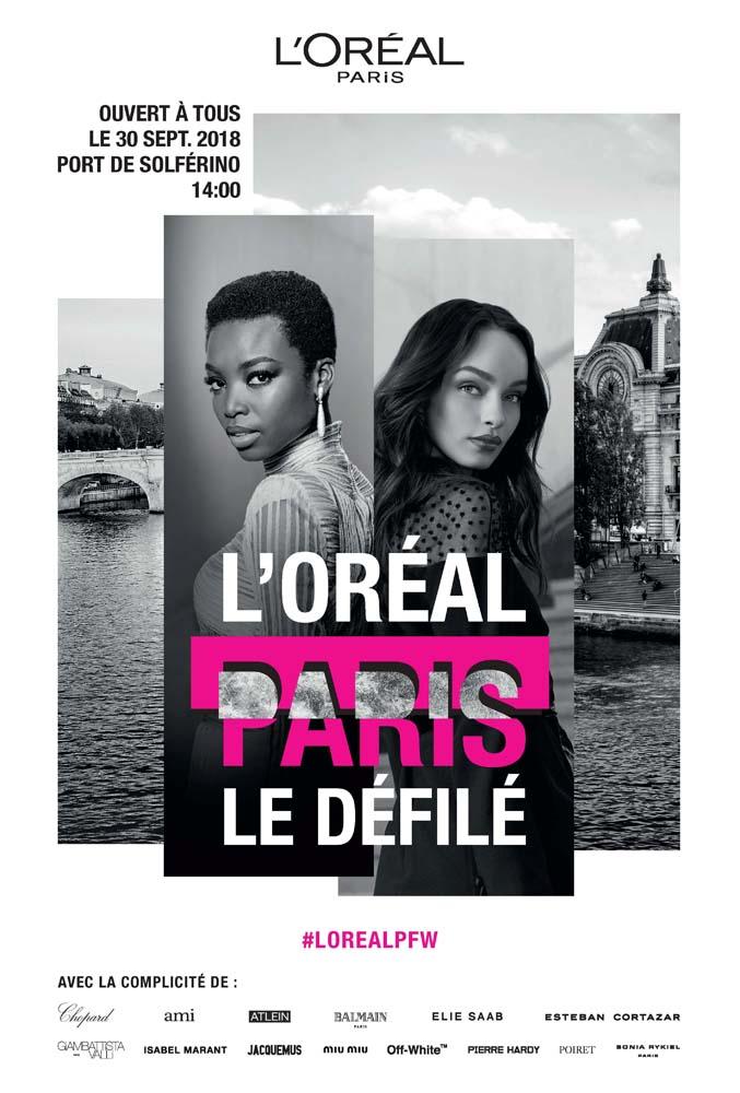 一生只一次!让我们相约塞纳河上的欧莱雅巴黎时装周