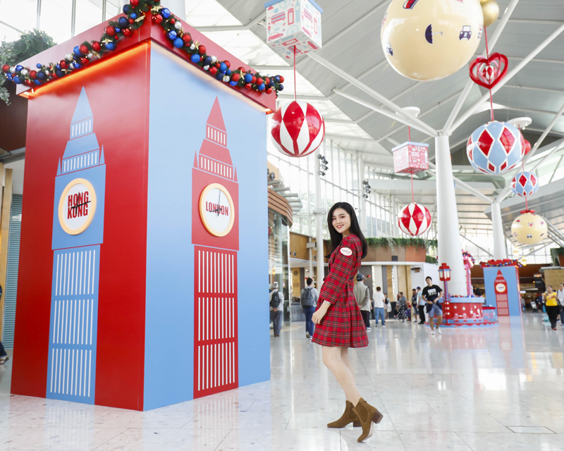 东荟城名店仓携手Cath_Kidston为冬日注入「满屋英伦圣诞风」