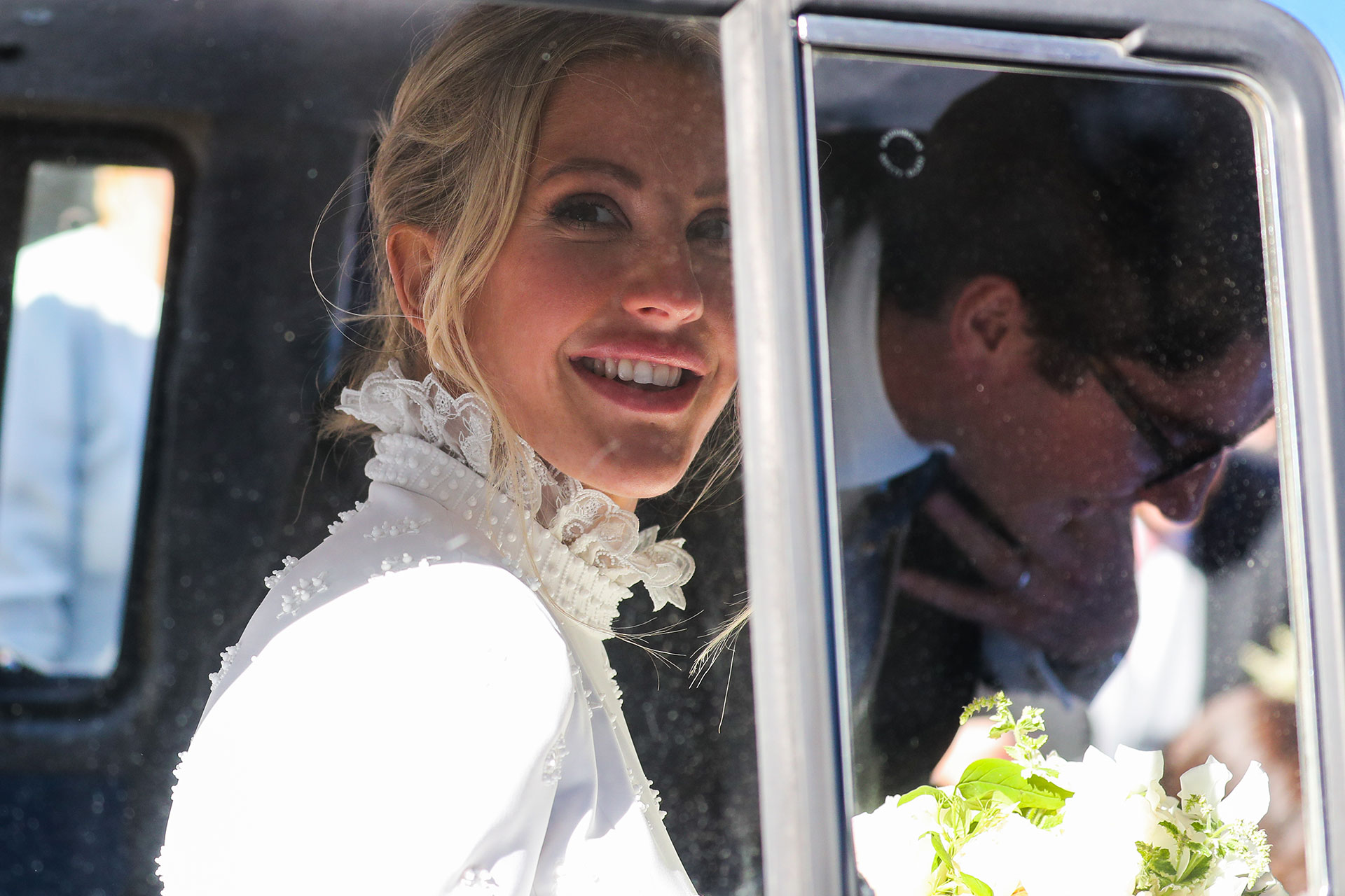 Ellie Goulding的婚礼发型大揭秘