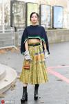 一條能穿四季,也就格紋裙能這么任性了