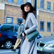 女明星与Burberry Banner坎特手袋