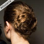 纽约时装周后台速报 Altuzarra秀场冷感粉彩眼唇妆