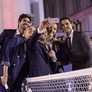 TOMMY HILFIGER全球品牌大使拉菲尔·纳达尔 参加网球表演赛