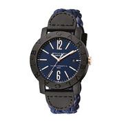宝格丽 BVLGARI Carbon Gold全新腕表以独特的风格元素和鲜明的时髦标识,树立全新理念,引领时代节拍。