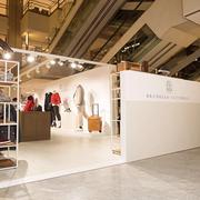 BRUNELLO CUCINELLI 在北京SKP中庭设Pop-up Store