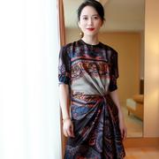 佩斯里的别样魅力——俞飞鸿身穿ETRO2018秋冬系列女装出席新电影发布会