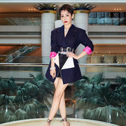 """宁静以AQUAZZURA高跟鞋点缀西装造型个性亮相""""第21届上海电影节闭幕式 """""""