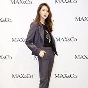 戚薇空降天津MAX&Co.,解锁秋冬时尚密码
