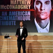 Dolce&Gabbana唯我男士香水代言人MATTHEW荣获第28届美国电影艺术奖