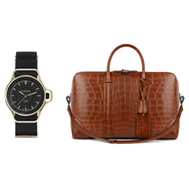 纪梵希推出限量版黑金色SEVENTEEN 腕表及男士珍稀鳄鱼皮LC旅行包