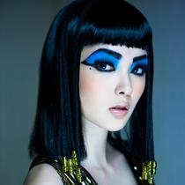 年末派对造型cosplay 变身电影《埃及艳后》女主角