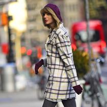 冬天穿短裙应该这么搭!
