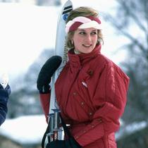 时尚缪斯经典滑雪造型