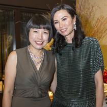 Angelica Cheung与邓文迪设宴欢迎Anna Wintour来华