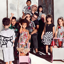 Dolce&Gabbana 2015年春夏童装广告