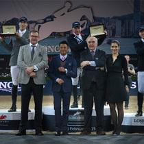 2015浪琴表香港马术大师赛精彩上演 优雅形象大使郭富城见证马年收官盛事