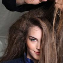 不同发质选不同发梳才能做出好发型
