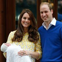 英国王室喜添小公主