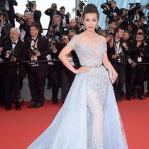 国际巨星李冰冰佩戴CINDY CHAO The Art Jewel大师系列 跃登戛纳红毯女王