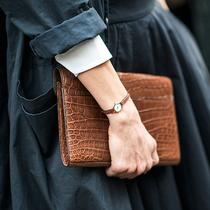 不只是中性 皮革腕表还可以这样搭配-经典搭配&新奇玩法
