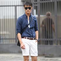 气温33°+ 教男友这样穿短裤