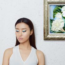 荧光色眼影点亮你的夏季眼妆