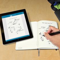 用Moleskine 最新智能笔记本和Livescribe智能触控笔来捕捉你的创意灵感