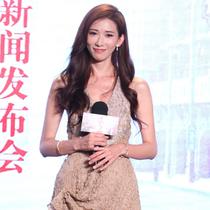 林志玲身着Giorgio Armani 礼服出席电影《道士下山》北京首映礼