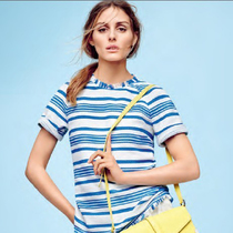 Olivia Palermo的夏日最爱单品是什么?条纹装!