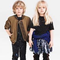 2015 H&M Studio 秋冬童装系列展现街头潮流和趣味时尚