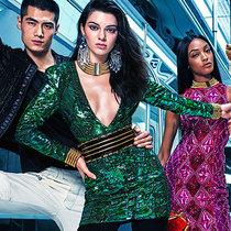 KENDALL、GIGI与JOURDAN 为BALMAIN X H&M系列拍摄平面广告