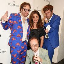 Mulberry 于伦敦当代艺术学院庆祝London Burning新书发布会