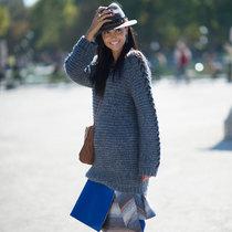 一件oversize毛衣的慵懒冬天