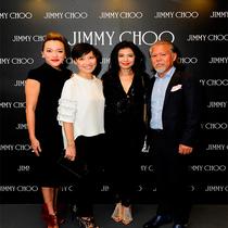 JIMMY CHOO创意总监主持新加坡旗舰店开幕酒会