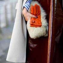 手套配手包 专属冬季的品味搭配