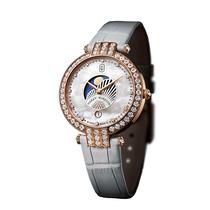 海瑞温斯顿 卓时Premier 系列 36 毫米月相功能女装腕表