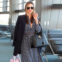 春節回家也要美美噠,25條機場穿衣指南-明星街拍
