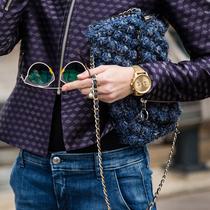 时装周街拍 时髦人都少不了一款腕表-经典搭配&新奇玩法