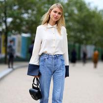 时尚是种态度 时髦只需一条牛仔裤