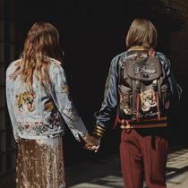 #Gucci Backpack#爱上的到底是男主角,还是他身后的那颗双肩包?