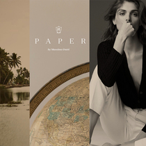Massimo Dutti推出全新专题栏目:PAPER