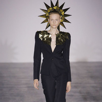 #SuzyLFW Gareth Pugh: In The Heat Of The Sun-Suzy Menkes专栏